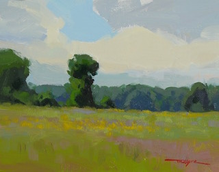 Summer Field Painting by Troy Kilgore